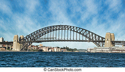 sydney harbour bridge - great image of sydney harbour bridge