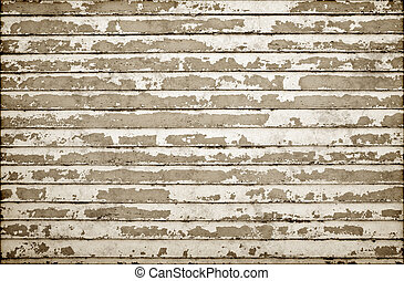 old grungy wall - old weatherboard wooden wall all the paint...