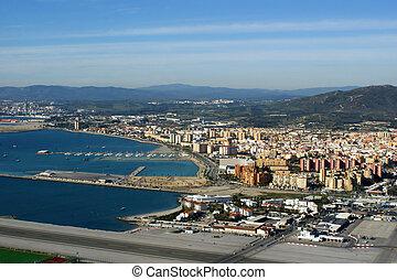 Gibraltar - The harbour of Gibraltar