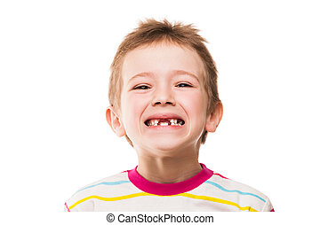 First baby milk or temporary teeth fall out