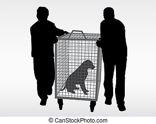 The dog catchers - Help the animals. Adopt a pet from the...