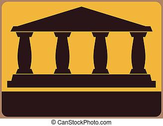 Museum or monument symbol.