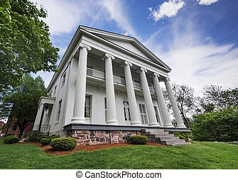 Southern mansion - Southern greek revival mansion from the...