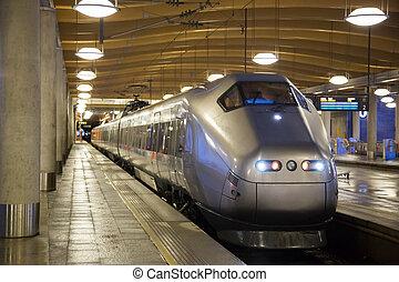 commuter train Oslo