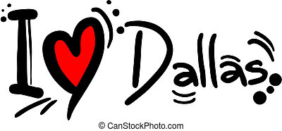 Love Dallas - Creative design of Love Dallas