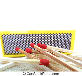 Box matches - Nice photo of box matches