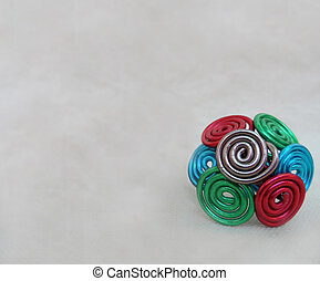 color jewelry