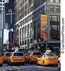 Times Square New York City - NEW YORK CITY - MAY 17: Times...