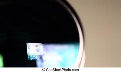 Camera Lens Close-up