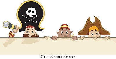 Pirates with Blank Board 2