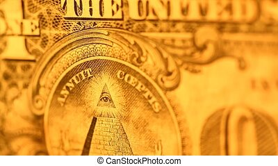 Us Dollar Close-up
