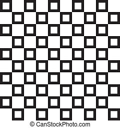 Abstract squares fence project background