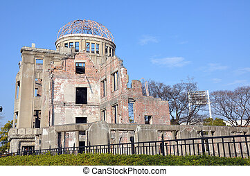 Fat Boy - The dome of Hiroshima, the only building standing...