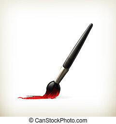 Paintbrush, vector