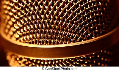 Microphone Close-up