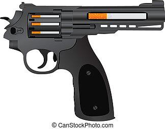 cigarettes pistol