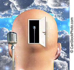 Microphone inside mind