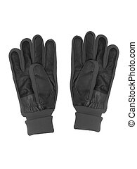 Gloves - Winter gloves isolated against a white background