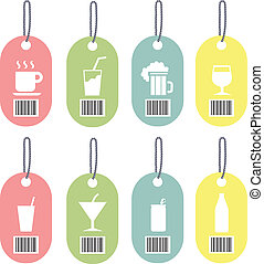 Tag drink icons