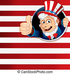 Uncle Sam Thumb Up