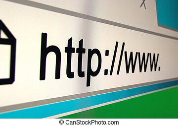 http www browser bar