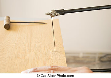 marquetry craftsman this sawing board
