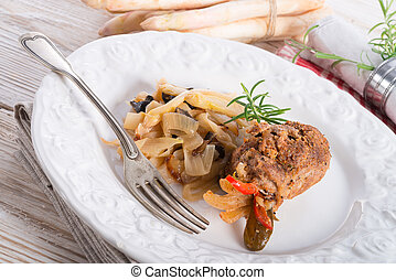 meat beefs olive