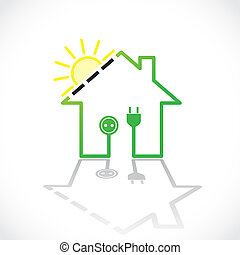 Green house as simple solar electricity circuit -...