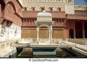 Fort of Bikaner, Rajasthan - Fort of Bikaner in Rajasthan,...
