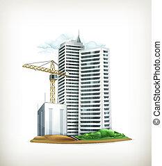 Building, vector
