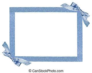 frame - blue frame