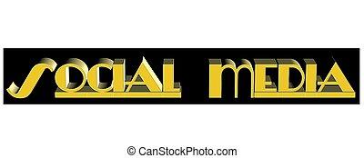 social media banner in 3d - social media banner