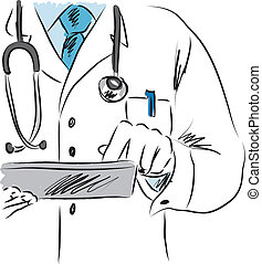 doctor medical illustration