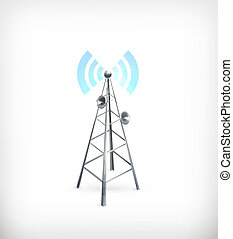 Wireless, vector icon