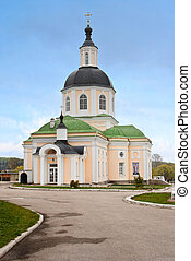 beautiful Christian church against