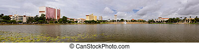 Panoramic image of Lakeland, FL - Panoramic image of...