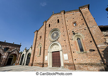 Castiglione Olona (Varese, Lombardy, Italy), the medieval...