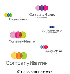 Set of Business signs