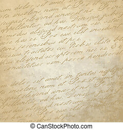 Historical Background - Old paper with copy space
