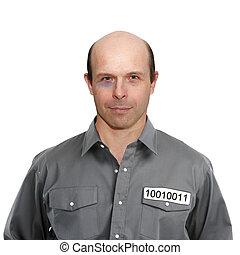Portrait of a criminal