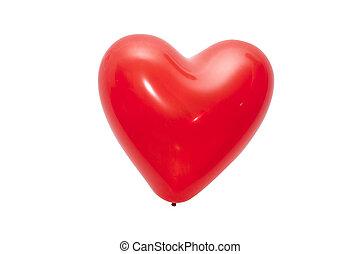 Coração, Dado forma, balloon