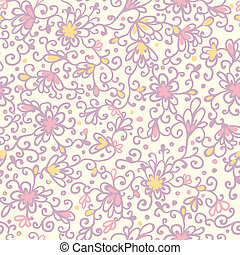 Abstract floral texture seamless pattern background