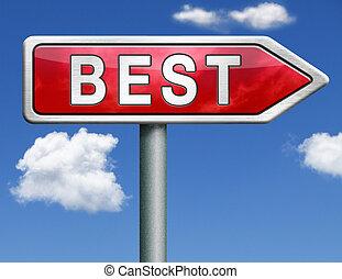 best road sign arrow