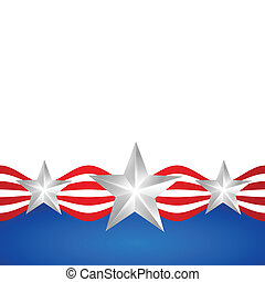 stylish american independence day - vector stylish american...