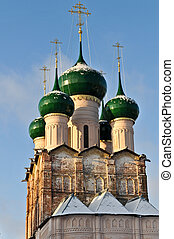 Russian Orthodox Church of Rostov Kremlin - Russian Orthodox...