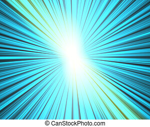 starburst - Abstract glowing light and rays starburst...