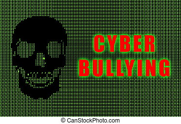 Cyber Bullying Online Web Issue in Ascii