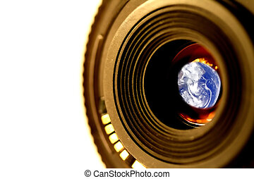 Seeing the World - Lens and Earth