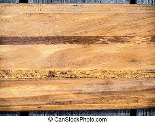 Wood boat paddle background