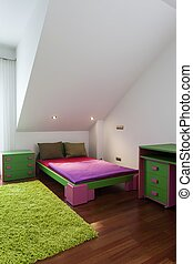 Colorful children bedroom
